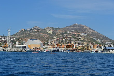 View of the port of Cabo San Lucas CaboSanLucasPort07.JPG