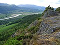 Cadair Ifan Goch with River Conwy in distance - geograph.org.uk - 456826.jpg