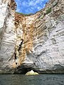 Cala Galdana Sea Cave (29837017420).jpg