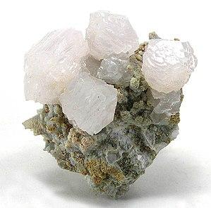 Manganoan calcite - Manganocalcite