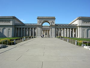 Fine Arts Museums of San Francisco - The Legion of Honor, part of the Fine Arts Museums of San Francisco