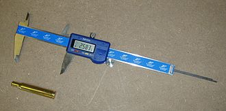 Handloading - Digital calipers for measuring case length