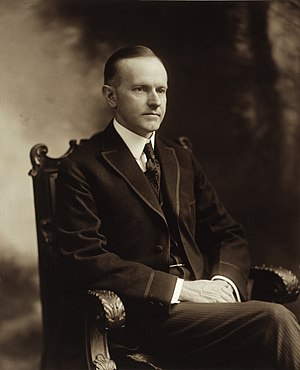 United States presidential election in California, 1924 - Image: Calvin Coolidge cph.3g 10777