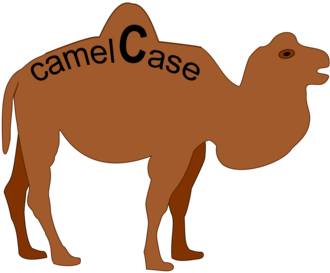 "Camel case - camelCase is named after the ""hump"" of its proceeding capital letter, similar to the hump of common camels."