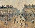 Camille Pissarro - Avenue de l'Opéra, effet de neige, le matin (Pushkin Museum).jpg