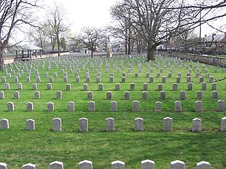 Camp Chase - More than 2,200 Confederate graves are in the Camp Chase Confederate Cemetery