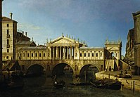 Canaletto - Caprice View with Palladio's Design for the Rialto RCIN 404029.jpg