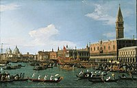 Canaletto - Return of 'Il Bucintoro' on Ascension Day - Google Art Project.jpg