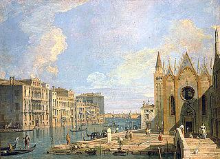 The Grand Canal from Campo della Carità