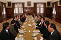 Canciller Patiño asiste a almuerzo de despedida para el próximo embajador ecuatoriano en China, Leonardo Arízaga (4987880084).jpg