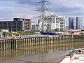 Canning Town E16 skyline from London City Island.jpg