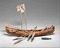 Canoe Model with Accoutrements MET DT258526.jpg