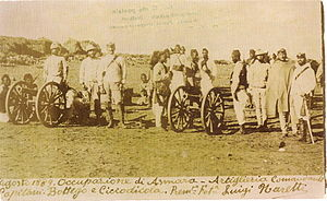 Askari - Italians and Ascari - a colonial troop of 1889