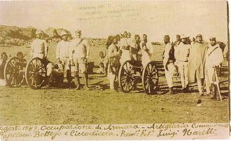 Askari - Italians and Ascari - a colonial troop of 1889
