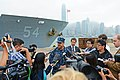 Capt. Disy holds a press conference. (10836767965).jpg