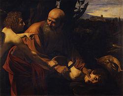 Caravaggio: Sacrifice of Isaac
