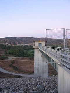 "Carbon Canyon Dam Dam in Orange County, California""`UNIQ--ref-00000000-QINU`"""