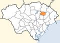 Cardiff Wales communities - Pentwyn post-2016 locator.png