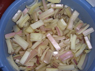 Ágreda - Ágreda is famous for its cardoons, here seen peeled and cut and ready for cooking