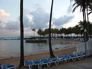 Caribe Hilton Hotel - Image: Caribe Hilton Beachside