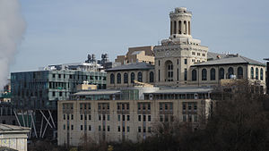 Carnegie Mellon College of Engineering - Hamerschlag, Roberts, and Scott Halls are three major facilities of the College of Engineering
