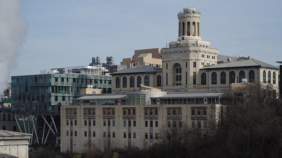 Carnegie Mellon Hamerschlag Hall and Scott Hall