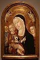 Carolino da viterbo, madonna col bambino tra i ss. girolamo e caterina d'alessandria, 1450 ca. 01.jpg