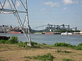 Carrollton Riverbend Levee Aug 2009 River K.JPG