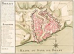 Carte de Brest - ca 1700 - Bibliothèque Nationale de France - Btv1b8439976x.jpg