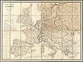Carte itinéraire de l'Europe indiquant les limites actuelles des etats - dediée au Roi (14939164186).jpg