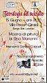 Cartolina locandina mostra Elisa Marianini Tetralogia del suicidio Villa Pecori Giraldi.jpg