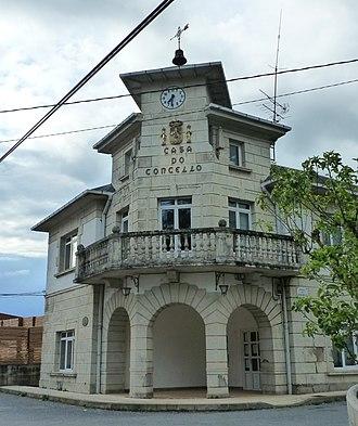 O Corgo - Image: Casa concello O Corgo, Lugo