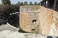 Castello il torrione di nord est con le cannoniere di due livelli.jpg