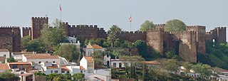 Castle of Silves Moorish fortification in Portugal