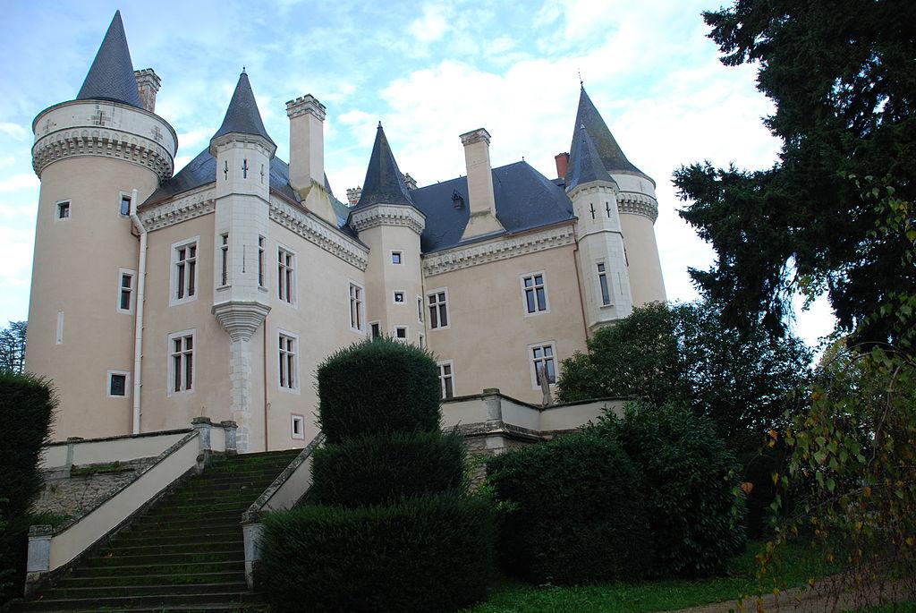 Castillo de Saint-Chartier. Torres.JPG