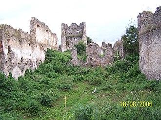 Čabraď Castle - Image: Castle čabraď