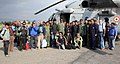 Casualties brought from Lamabagar to Kathmandu by an Indian Air Force (IAF) Mi-17 V5, post a recent massive earthquake occurred in Nepal on May 13, 2015.jpg