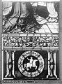 Cathédrale - Vitrail, Chapelle Saint-Joseph, Vie de saint Romain, lancette de gauche, cinquième panneau, en haut - Rouen - Médiathèque de l'architecture et du patrimoine - APMH00031312.jpg