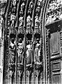 Cathédrale Notre-Dame - Portail nord de la façade ouest. Statues de l'ébrasement gauche - Les Vices - Strasbourg - Médiathèque de l'architecture et du patrimoine - APMH00007662.jpg