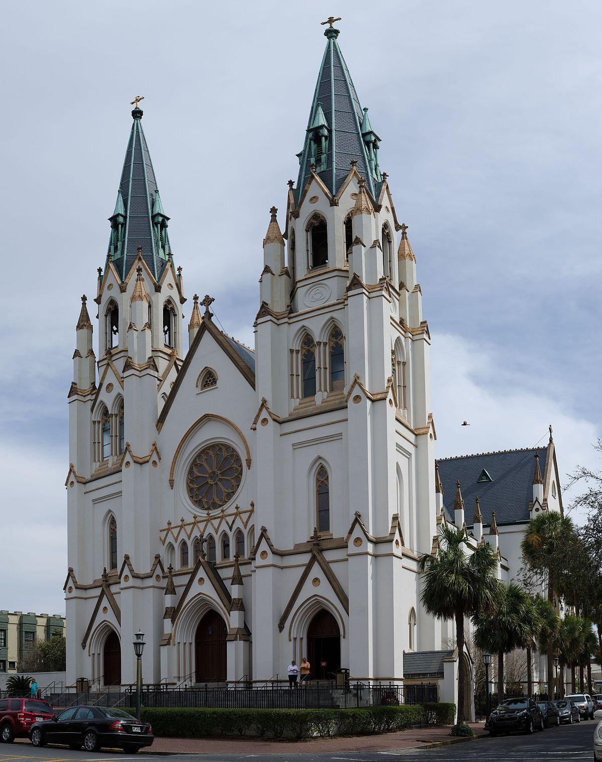 Cathedral of St. John the Baptist (Savannah, Georgia ...