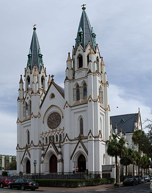 Cathedral of St. John the Baptist (Savannah, Georgia) - The Cathedral of St. John the Baptist