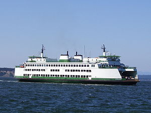 Issaquah 130 class ferry - M/V Cathlamet (June 2008)