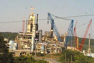 Catlettsburg Refinery - Image: Catlettsburg Refinery US23