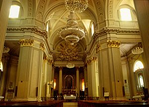 Treia Cathedral - Cathedral interior