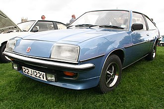 Vauxhall Cavalier - Vauxhall Cavalier Sports hatch (Opel Manta B)