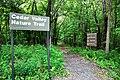 Cedar Valley Nature Hiking Trail, Sugar Bottom Recreation Area, Iowa - Forest Hike (27364980777).jpg