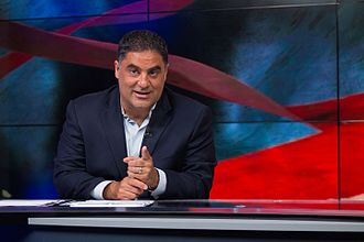 Cenk Uygur - Uygur hosting The Young Turks in 2015.