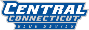 2014 Central Connecticut Blue Devils football team - Image: Central Connecticut Blue Devils wordmark