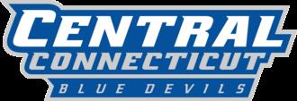 Central Connecticut Blue Devils men's basketball - Image: Central Connecticut Blue Devils wordmark