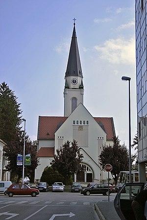 Roman Catholic Diocese of Murska Sobota - Murska Sobota Cathedral
